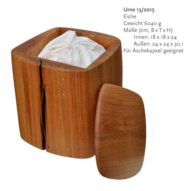 Susanne Busse - Urnen aus Holz - Urnenmodelle